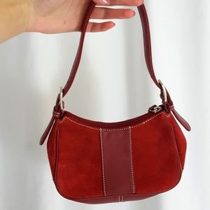 Wilson's leather suede mini bag